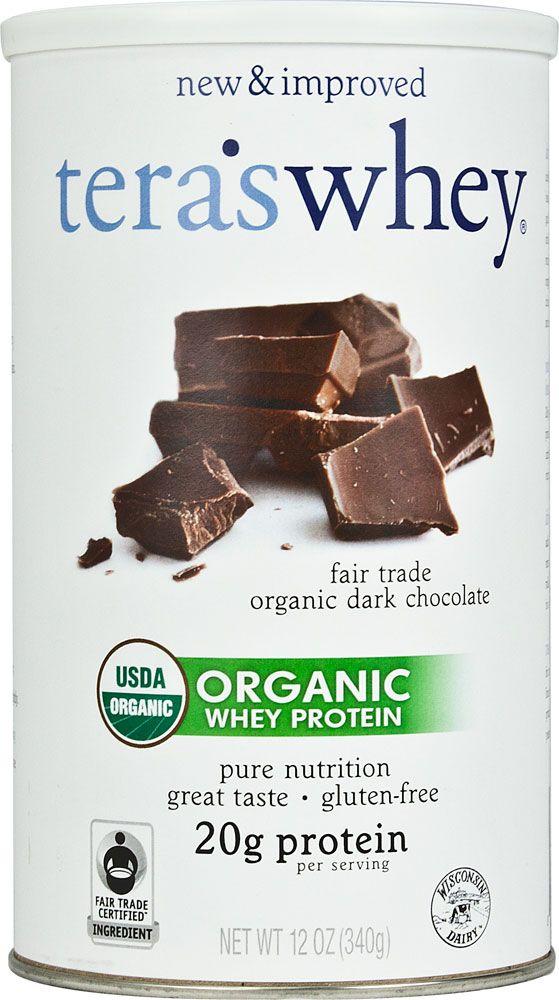 Tera's Whey Organic Whey Protein Dark Chocolate