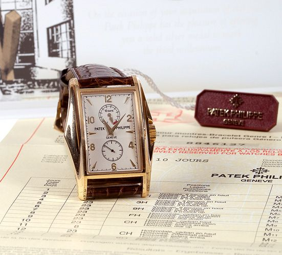 "Patek Philippe, ""10 Days"", Ref 5100J-001, 2000. www.boule-auctions.com"