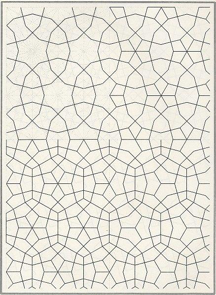"""Aus """"Les éléments de l'art arabe"""", Joules Bourgoin"""