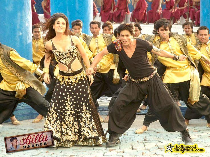 Kareena Kapoor And Shahrukh Khan dancing in 'Marjaani' from Billu Barber (2009)