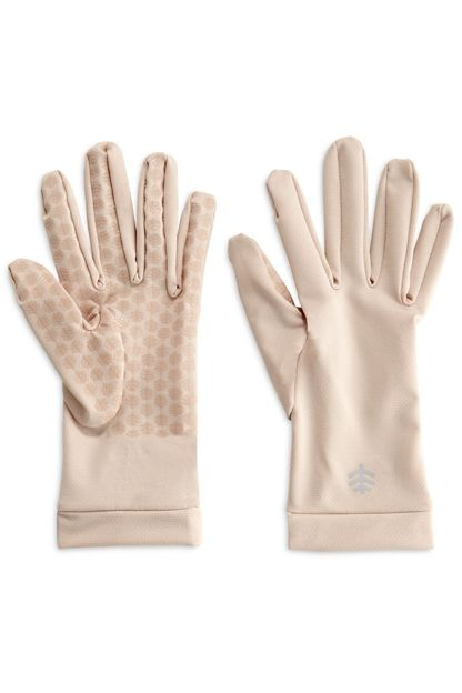 Buy quality SPF driving gloves to reduce sun exposure and sun aging. Sun gloves with silicone print grippers on palms and fingers for added grip and dexterity.