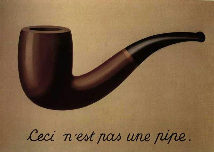 Rene Francios Ghislain Magritte 21 november 1898 - 15 augustus 1967 Uit Schaarbeek Belgische surrealistische kunstschilder C'est ne pas une pipe Museum van Magritte