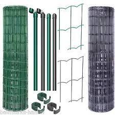Bildergebnis für GAH-Alberts Fix Clip Pro Gartenzaun Komplettset (1 m Höhe, 10-m-Rolle) Individuell anpassbar in Grün oder Anthrazit