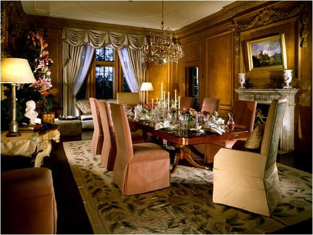 I Could See The Elite Or Premiere Dining Poker Table In This Warm Traditional Room