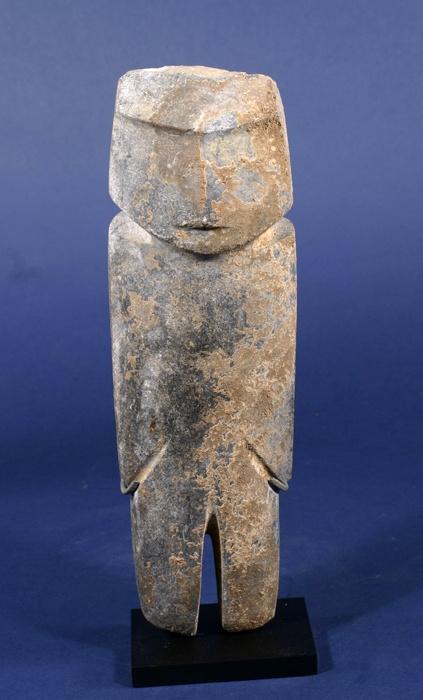 Standing Stone Figure Mezcala Mexico Arte Prehispanico