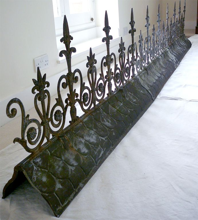 End Of 19th Century Roof Finials