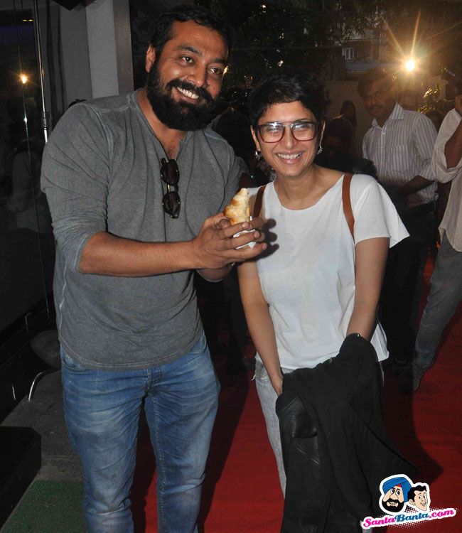 Screening of Hollywood Film The Hateful Eight -- Anurag Kashyap and Kiran Rao Picture # 328134