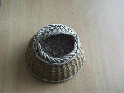 ▶ Papierové pletenie: Jednoduchá uzávierka/Paper weawing: Easy ending - YouTube