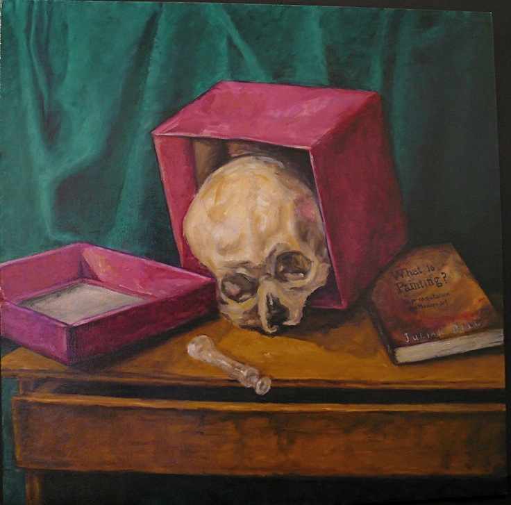 'Another Vanity' Oil on Canvas