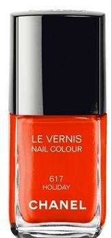 Mai un colore ha avuto un nome così indicato in questi giorni: smalto Chanel 617, Holiday! www.viceversa.com
