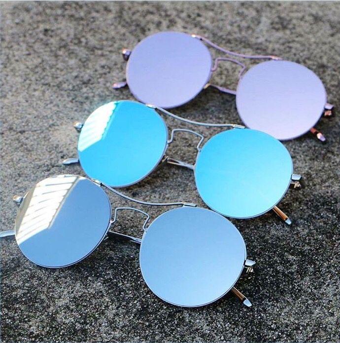 THE ISLAND COLLECTION Ice pink, ice blue & silver !! Amazing #shevoke sunnies avaliable online shevoke.com #sunnies #sunglasses #sunglass #popular
