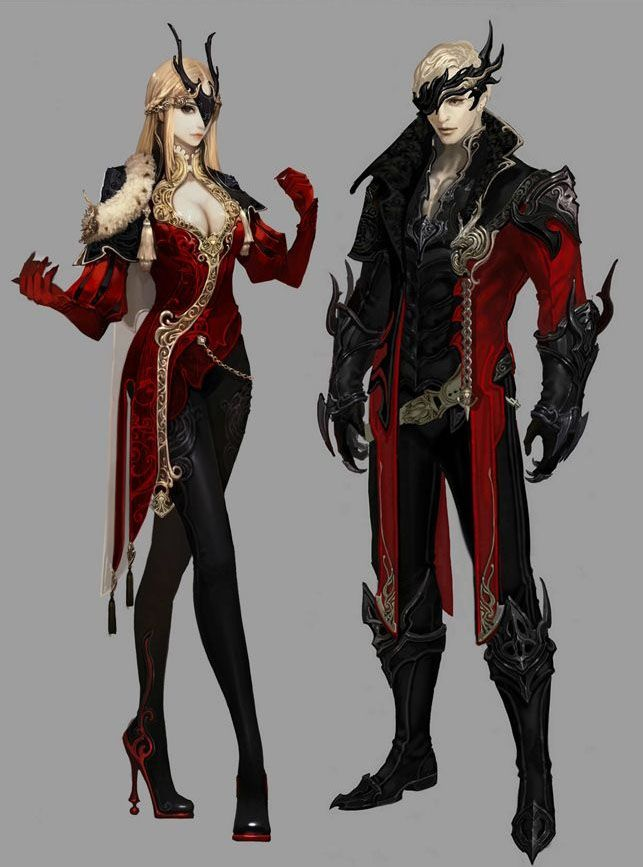 Pirate Queen and First Mate Formal Wear Idea