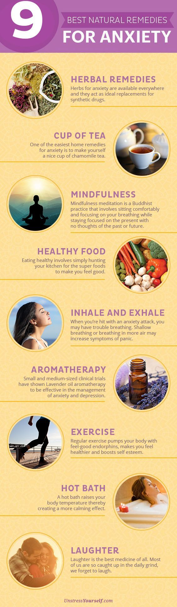 Best Natural Remedies for Anxiety I've recently started drinking Kava tea. I found it at local organic/health food store.