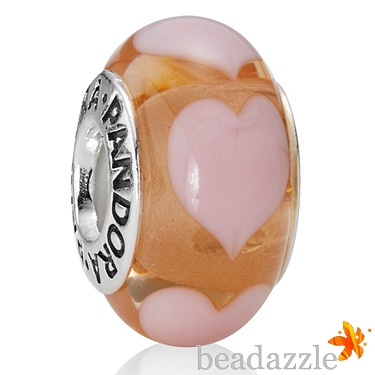 Pandora Murano Pink Hearts from Beadazzle.co.uk - Pandora Charms, Beads, Bracelets, Genuine   790660 £30.00