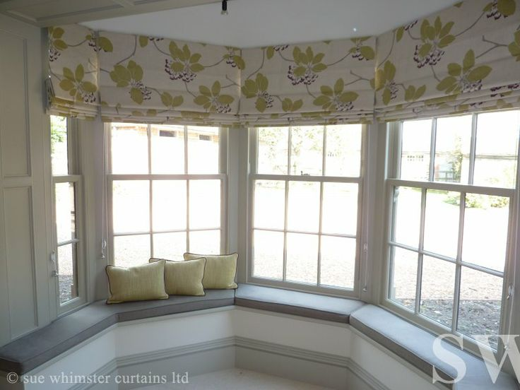 Bay Window Roman Blinds Bay Window Blinds Curtains