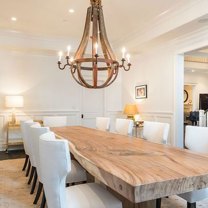 Rustic french country dining room | interior design, home decor, dining room. More ideas at http://www.bocadolobo.com/en/products/coffee-cocktail-tables.php