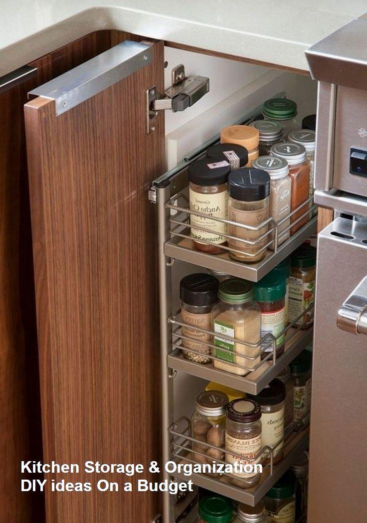 10 Modest Kitchen area Organization And DIY Storage Ideas ...