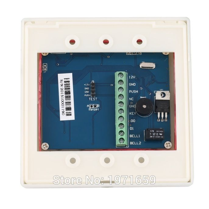 $9.00 (Buy here: https://alitems.com/g/1e8d114494ebda23ff8b16525dc3e8/?i=5&ulp=https%3A%2F%2Fwww.aliexpress.com%2Fitem%2FElectronic-RFID-Proximity-Entry-Door-Lock-Access-Control-System-10-Key-Fobs-YS-IC-OR-ID%2F32788880768.html ) Electronic RFID Proximity Entry Door Lock Access Control System + 10 Key Fobs YS IC OR ID CARD READER OPTIONAL for just $9.00