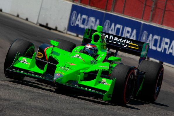 Danica Patrick Photos Photos - Danica Patrick, driver of the #7  Andretti Autosport Dallara Honda, drives during qualifying for the IZOD IndyCar Series Honda Indy Toronto on July 9, 2011 in the streets of Toronto, Ontario, Canada. - Honda Indy Toronto