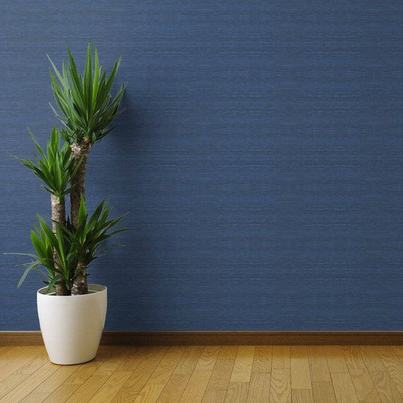 Removable Wallpaper Peel And Stick Wallpaper Grasscloth Etsy Peel And Stick Wallpaper Grasscloth Grasscloth Wallpaper