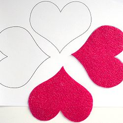 Want to know how to perfectly cut felt shapes and letters. No more fuzzy edges and wonky shapes!