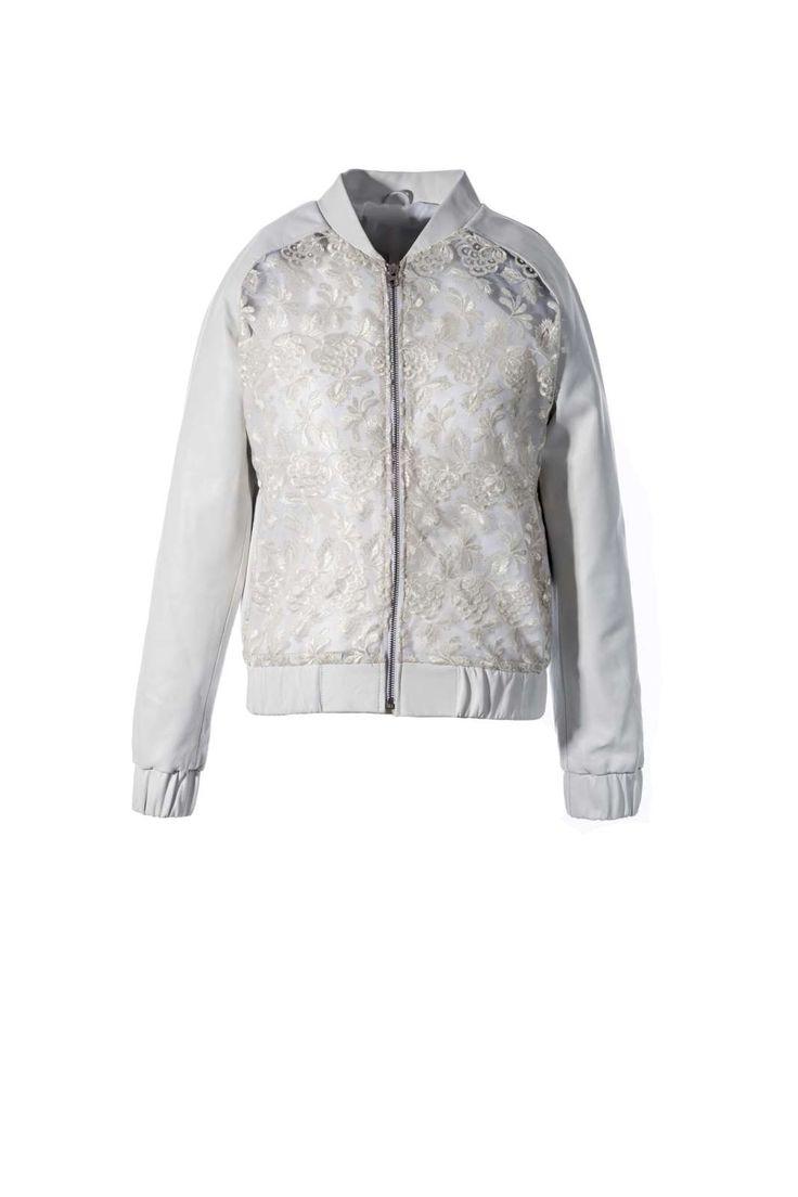 Stine Kim Design Lace Jacket  #blackandwhite