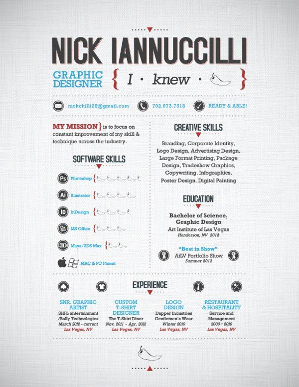 23 best Resume Designs images on Pinterest School, Paper and - best graphic design resumes