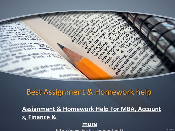 Best assignment