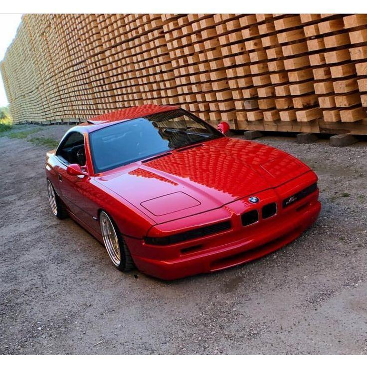 Credit Keckonen Stance Bmw 850 850i Csi 850ci 850csi 840 840i 840ci E31 8series Mpower Car Bmwlove Bmw Klassische Autos Bmw Autos Bmw Classic