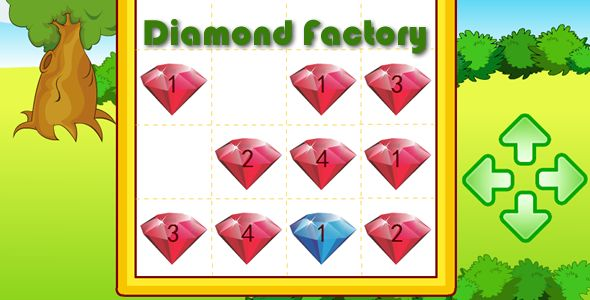 Diamond Factory . Diamond FactoryThis is a game is for Android OS. The project was compiled for Adobe Air and was published to *.apk file. Adobe Air Runtime was also integrated into *.apk file, so you don't need to install Adobe Air on your