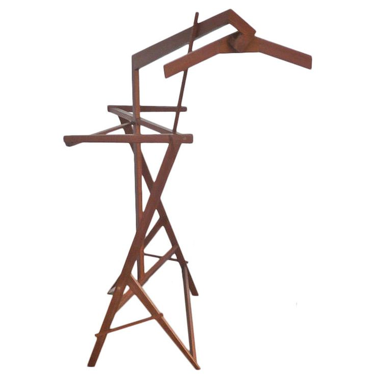 Men's Valet | From a unique collection of antique and modern coat stands at https://www.1stdibs.com/furniture/more-furniture-collectibles/coat-stands/