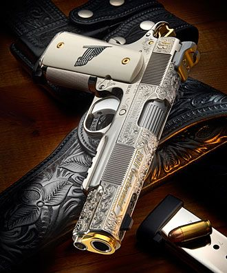 Custom Centennial 1911 Pistol - I might need this or my collection :)