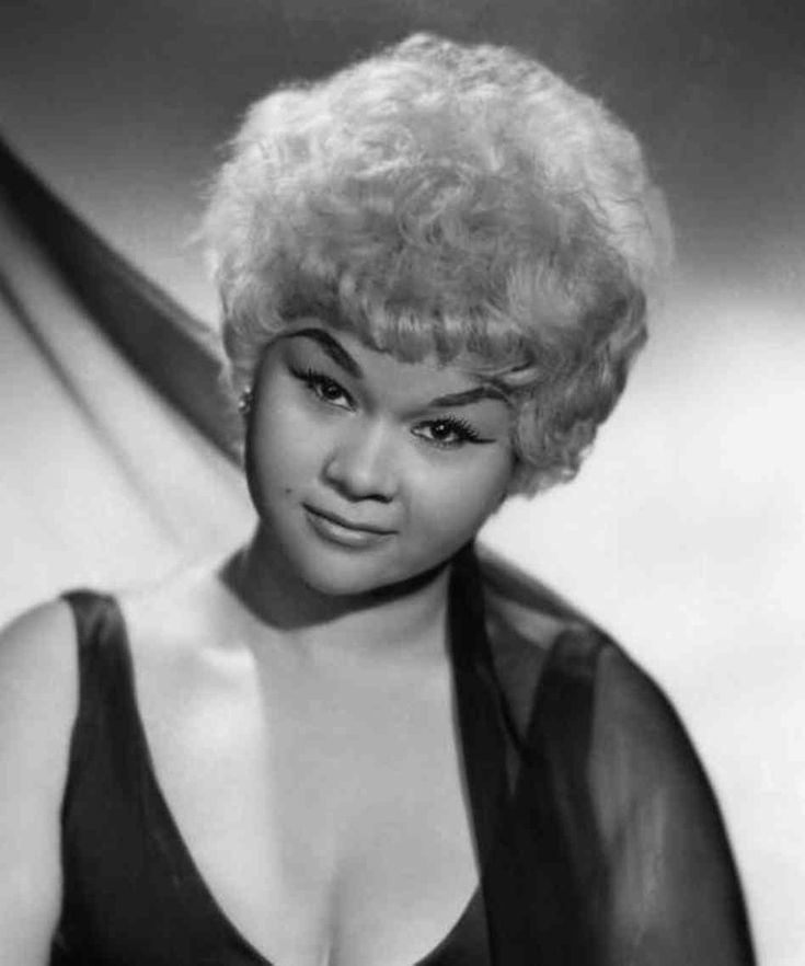 Etta James. Great singer who could hang in the genres of not only blues, but RB, rock and roll, gospel and jazz. 1938-2012.