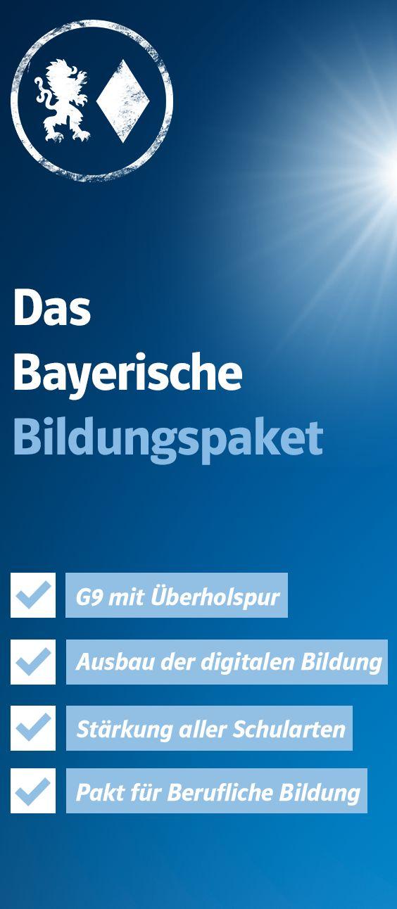 Wir denken Schule vom einzelnen Kind aus! Die CSU-Fraktion im Bayerischen Landtag hat Eckpunkte für ein neues Bildungspaket verabschiedet.