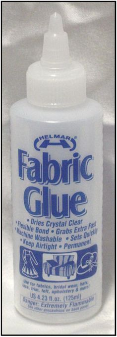 make your own fabric glue