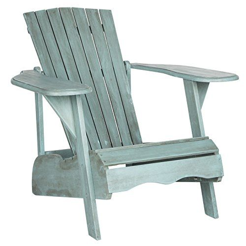 Inspired by the original Adirondack chair designed in 1903, the beach house blue Mopani chair exudes modern rustic-chic charm. Created for sitting back and enjoying conversation, its wide arm rest and deep slat back are crafted of sustainable acacia wood. This Adirondack chair will add a fresh look to any outdoor space The beach house blue finish of this Adirondack chair will add the perfect accent to any outdoor space Crafted of acacia wood Perfect for any outdoor space For over 100 years, S...