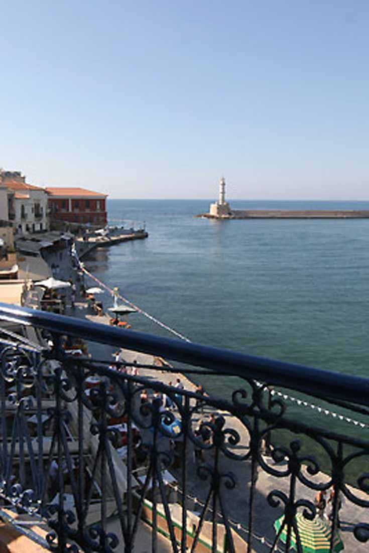 Nostos Hotel in Chania old town, Crete