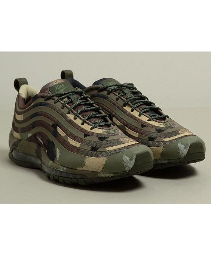 815db585f679 Mens Nike Air Max 97 Sp Italian Camouflage Trainer