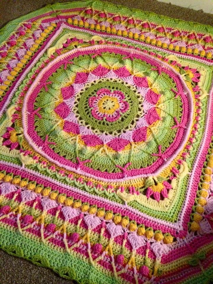 27 best CAL projects images on Pinterest | Crocheted afghans, Knit ...