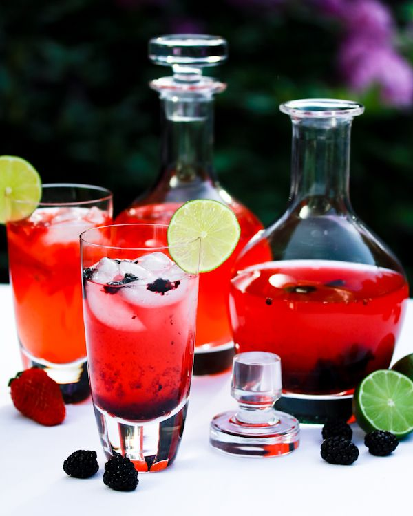 Berry Blast Nimbu Pani looks like the most perfect summer drink