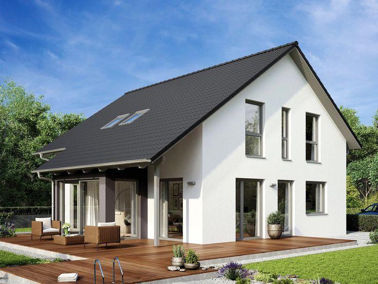 Satteldachhaus Variant 35-174 von Hanse Haus - Hausentwurf mit Grundrissen und Technischen Daten - das Variant 35-174 ist ein ganz persönliches Zuhause.