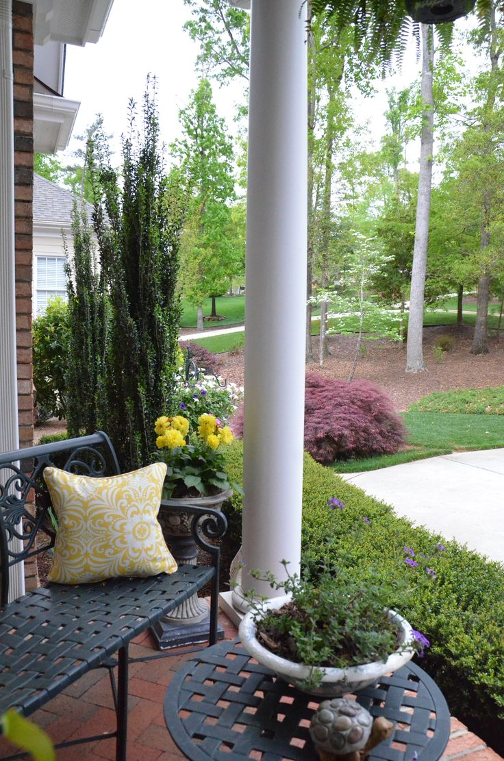 Beautiful Spring Porch Spring Ideas Pinterest