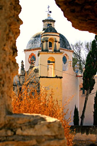 Santuario de Atotonilco, Mexico - MAINLY-MEXICAN - #Mexico #Mexican #church - to purchase folk art churches, visit www.mainlymexican...