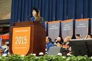 Read transcript of Mary Karr's commencement address at Syracuse University