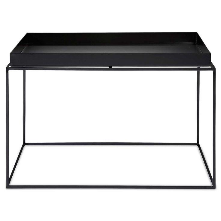 Tray Table bord 60x60, svart i gruppen Möbler / Bord / Soffbord hos RUM21.se (103859)