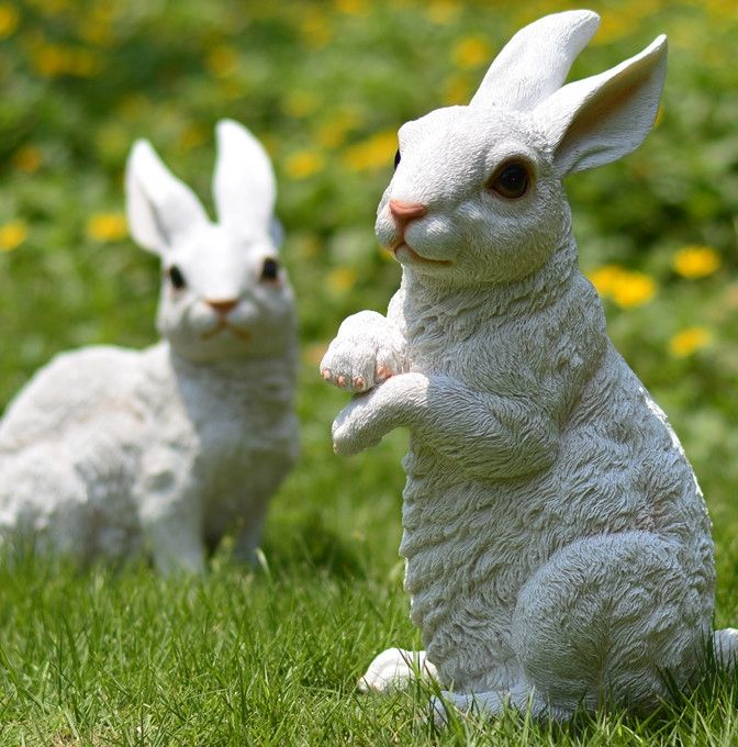 Online Get Cheap Conejo Jardín De Esculturas -Aliexpress ...