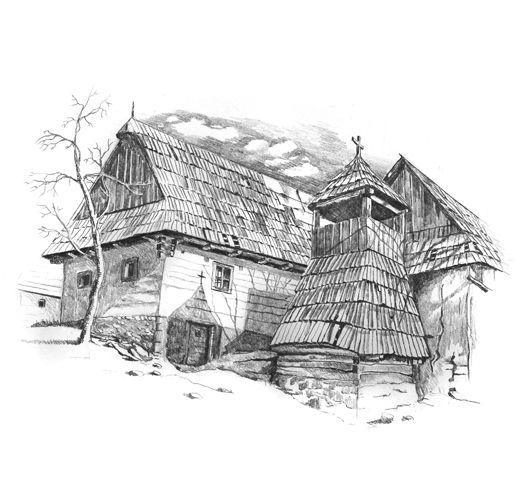 Vlkolínec, Liptov - SLOVAKIA