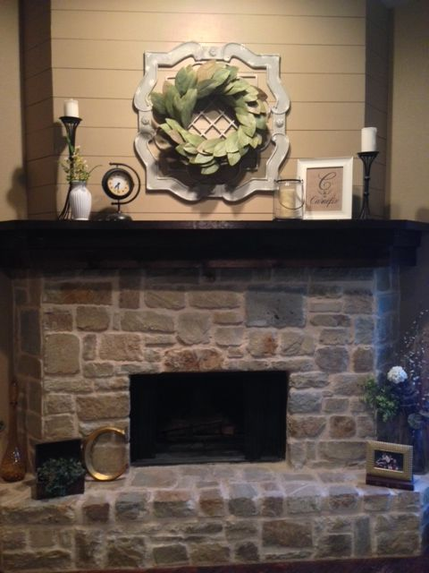 Fixer Upper Inspired Mantel Magnolia Wreath From Magnolia
