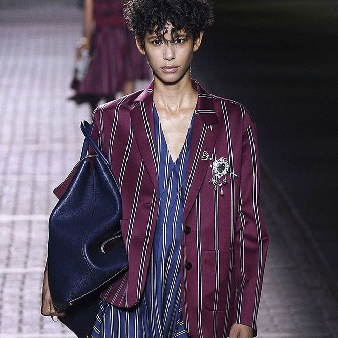#SuzyLFW Mulberry: Land Girls And Oxford Blazers