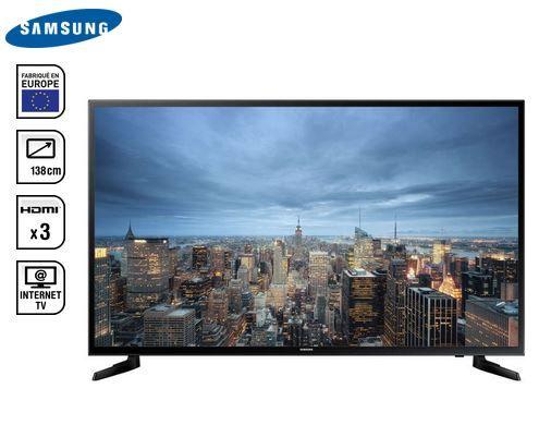 Téléviseur Ultra HD 4K 138 cm SAMSUNG UE55JU6000 pas cher prix promo Téléviseur 4K Conforama 895.99 €